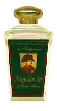 Emperor      NAPOLEON 1st' Authentic Eau de Cologne at SAINT HELENA